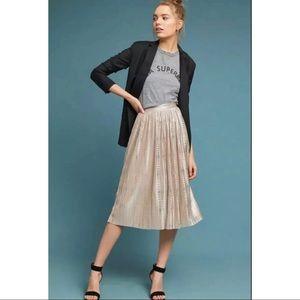 Anthropologie Sabina Musayev Cassia Midi Skirt